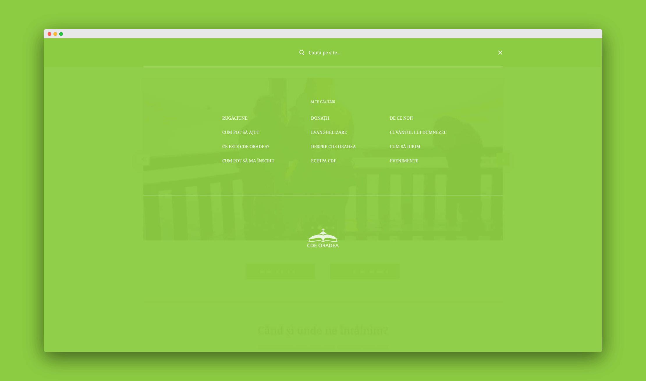 Project SearchMenu