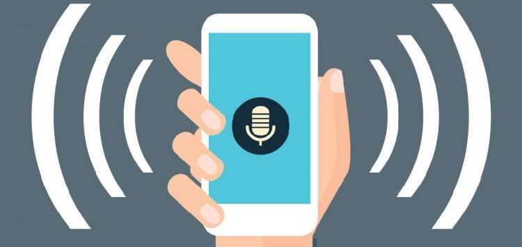 voice search 5 web trends in 2019